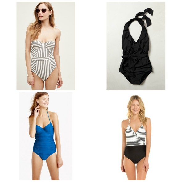 My Favorite One-Piece Swimsuits
